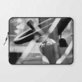 Shatterproof Dreams (JCB Cab Bokeh) Laptop Sleeve