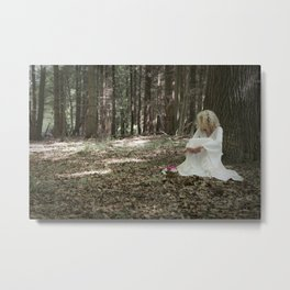In the woods Metal Print