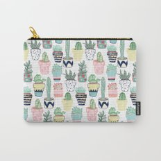 Cute Cacti in Pots Carry-All Pouch