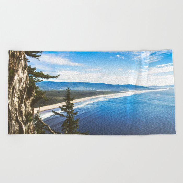 Wasted Youth Beach Towel