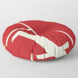 Running Track 123 Floor Pillow
