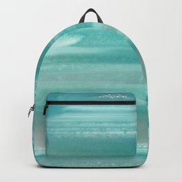 Turquoise Geode Backpack