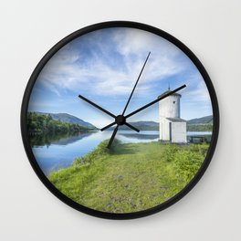Caledonian Summer Wall Clock