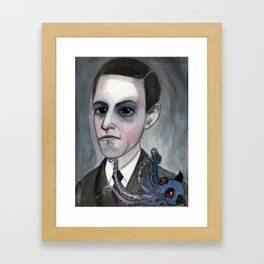 The Call of the Lovecraft Framed Art Print