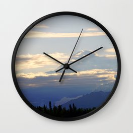 Denali (Mount McKinley) Wall Clock