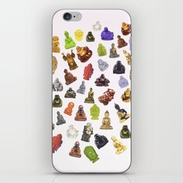 a bunch of buddhas. iPhone Skin