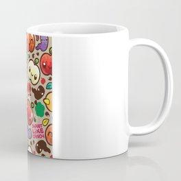 Apple Pattern Coffee Mug