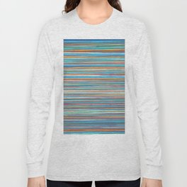 Colorful lines summer pattern Long Sleeve T-shirt