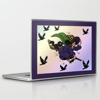 witch Laptop & iPad Skins featuring Witch by Art-Motiva