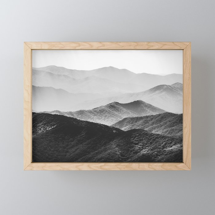 glimpse black and white mountains landscape nature photography framed mini art print by cascadia society6 glimpse black and white mountains landscape nature photography framed mini art print by cascadia