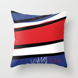 VAMOS TIQUICIA! Throw Pillow