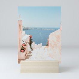 Santorini Oia Mini Art Print