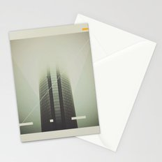 Devon Tower Divided By Fog Stationery Cards