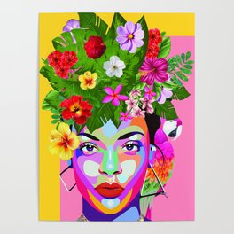 Frida R Poster