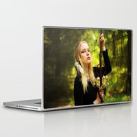 witchcraft Laptop & iPad Skins featuring Witchcraft by Aleksandra Walczak