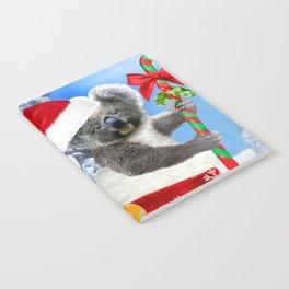 Baby Koala Christmas Cheer Notebook