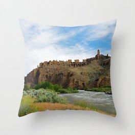 Outside Cody, Wyoming Throw Pillow