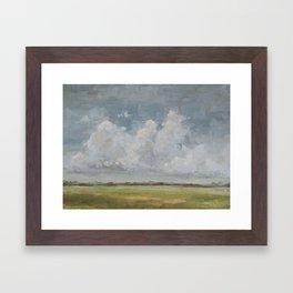 open sky 1 Framed Art Print