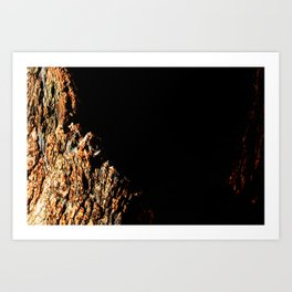 Cleft of the Earth Art Print