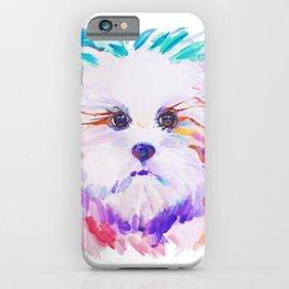 Sweet little princess lapdog iPhone Case