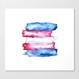 transgender rights Canvas Print