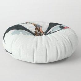 Riders of Skyrim  Floor Pillow