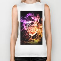 arsenal Biker Tanks featuring ARSENAL by Acus