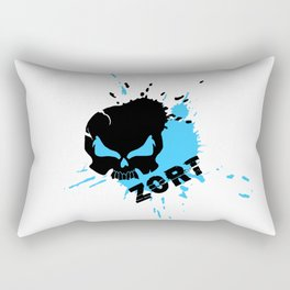 ZORT Splatter Rectangular Pillow
