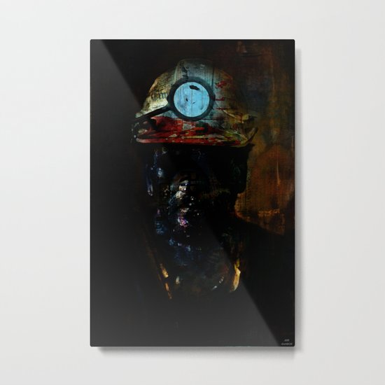 Destructuration # 2 Metal Print