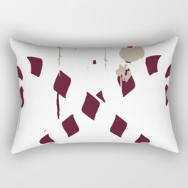 Gangster Skull and Crossbones Christmas Pirate Rectangular Pillow