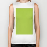 android Biker Tanks featuring Android Green by List of colors