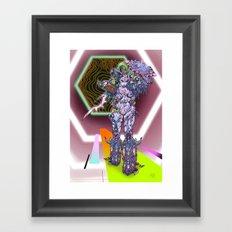 Rook, Cosmic Warrior Goddess Framed Art Print