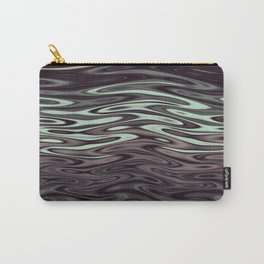 Ripples Fractal in Mint Hot Chocolate Carry-All Pouch
