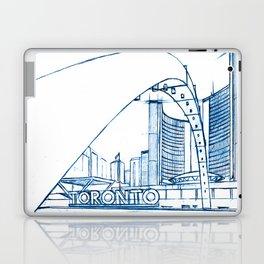 BluePrints | City Hall - Toronto Laptop & iPad Skin