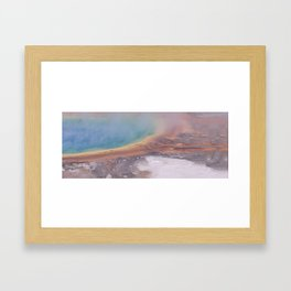 Yellowstone National Park 30X12 2 PANORAMA Framed Art Print
