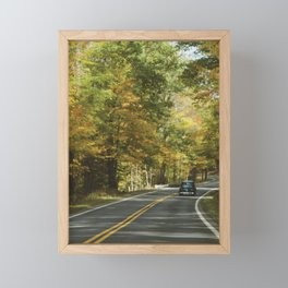 Fall Road Trip Framed Mini Art Print