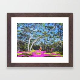 Beck in the Bush Framed Art Print