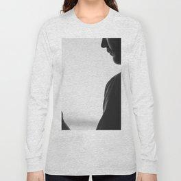 Gentleman with Scotch Long Sleeve T-shirt