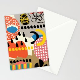 The sorcery of color n° 1 Stationery Cards