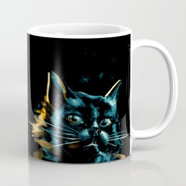 Night Cats Coffee Mug