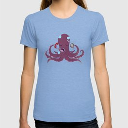 Old vs New Octopus T-shirt