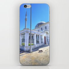 Istanbul Mosque Cat iPhone & iPod Skin