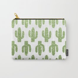 Glitter Cacti Carry-All Pouch