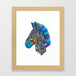 Zebruh Framed Art Print