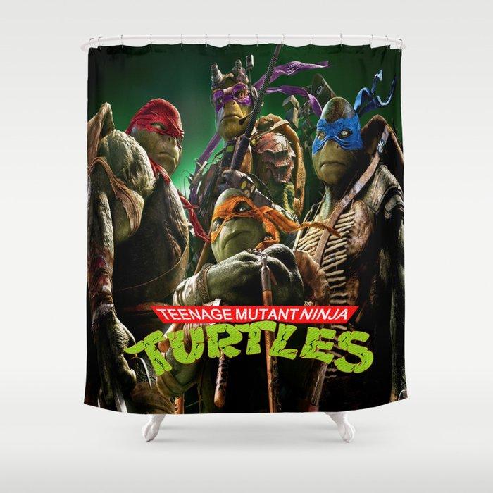 Teenage Mutant Ninja Turtles Shower Curtain By