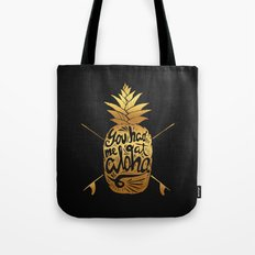 You had me at Aloha (GOLD EDITION) Tote Bag