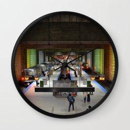 O'Hare Blue Line Station Wall Clock