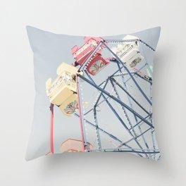 California Wheel Throw Pillow