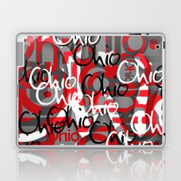 Ohio Scarlett & Gray Day Laptop & iPad Skin