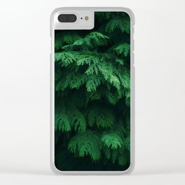 Trees give peace to the souls of men Clear iPhone Case
